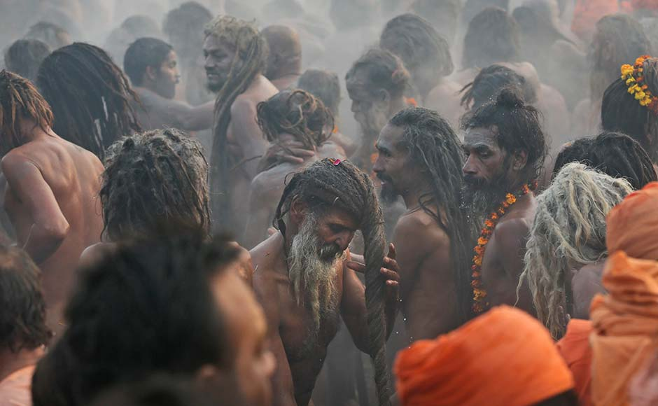 Kumbh derives its name from the immortal Pot of Nectar, which the Demigods (Devtas) and Demons (Asuras) fought over, described in ancient Vedic scriptures known as the Puranas. It is these Vedic literatures that have stood the test of time, out of which the tradition has evolved into the one that the world now knows as The Kumbh Mela