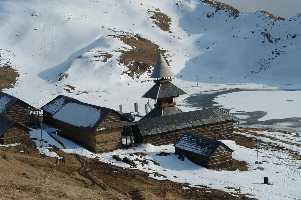 Prashar Lake and Temple of Rishi Prashar, Mandi, Himachal Pradesh2