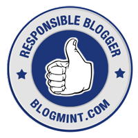 Responsible Blogger Badge