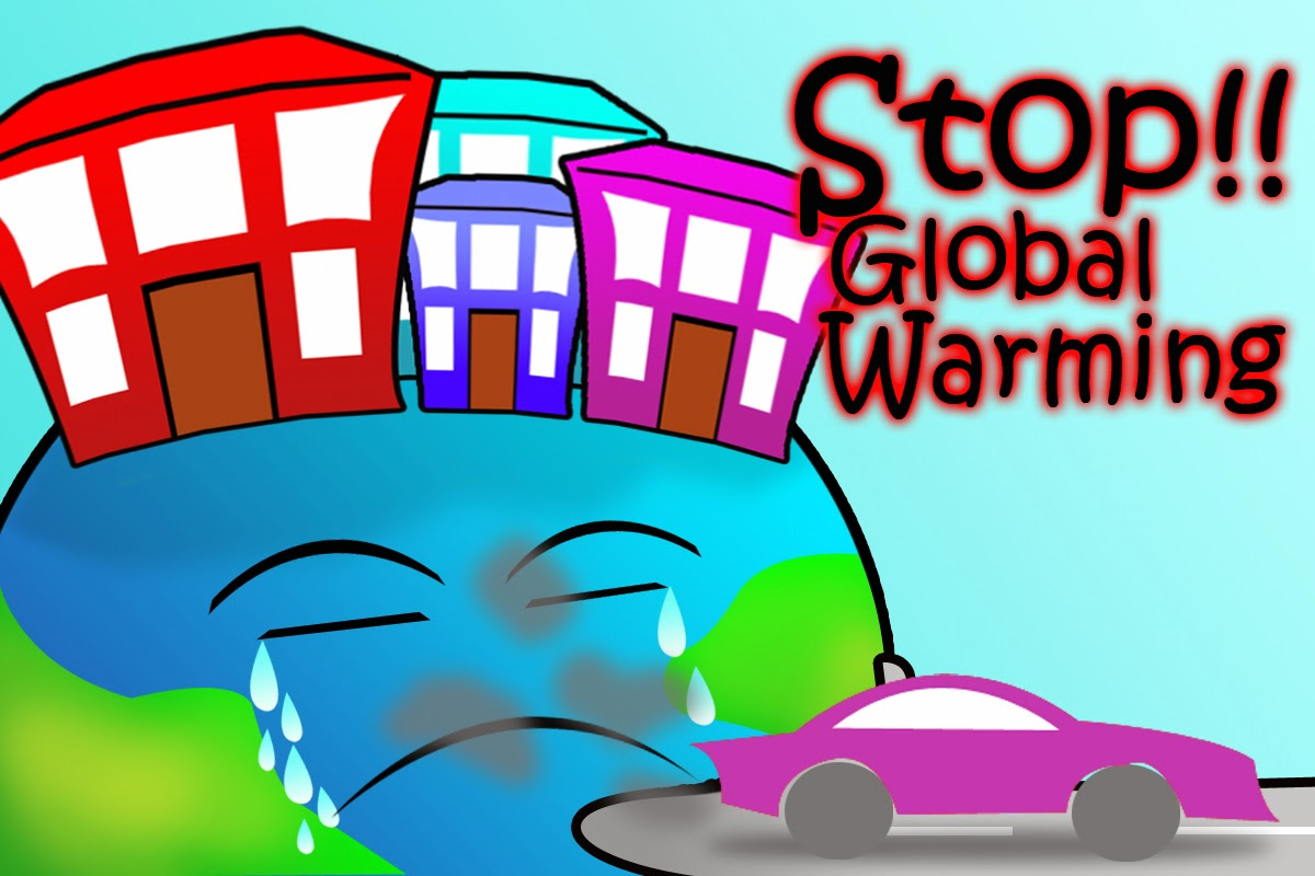 Top Sketsa Gambar Global Warming Sketsabaru