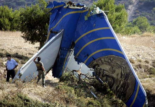 Image result for Boeing 737-300 of Helios Airlines CRASH