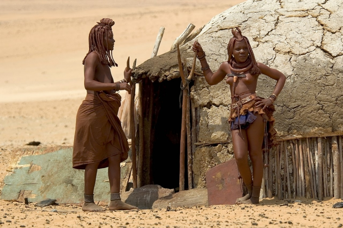 The Himba Tribe- Indigenous peoples living in northern Namibia