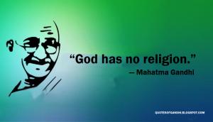 god-has-no-religion