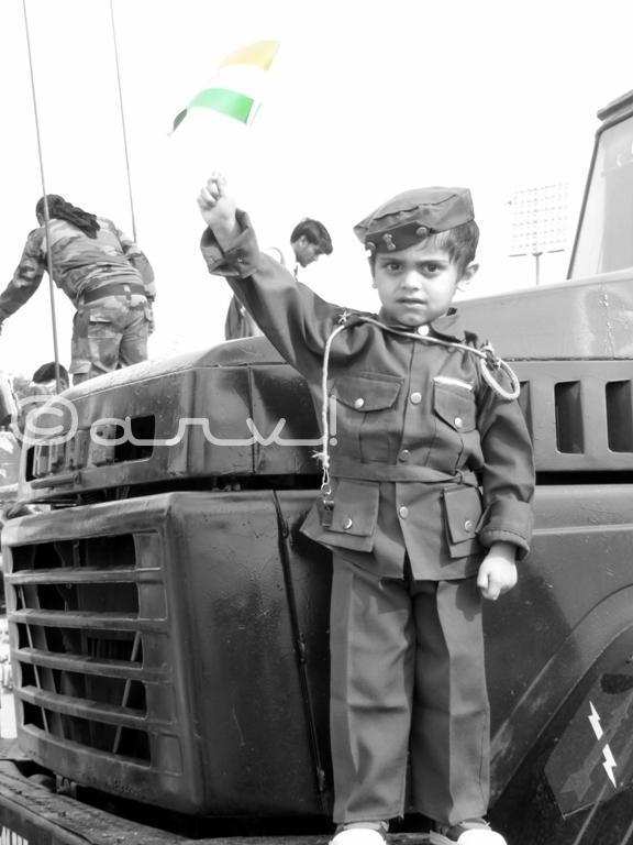 sapta-shakti-indian-army-show-jaipur-kid-soldier-india